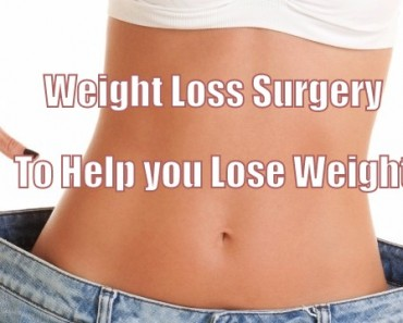 loose weight with weight loss surgery