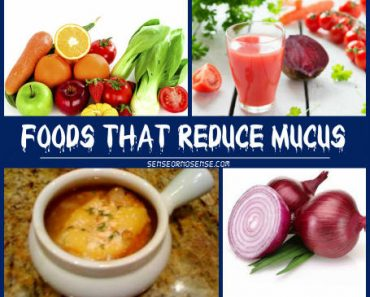 foods that reduce mucus