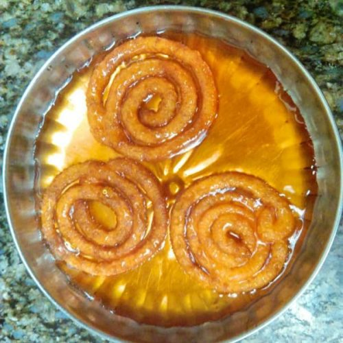 Jalebi Recipe step by step