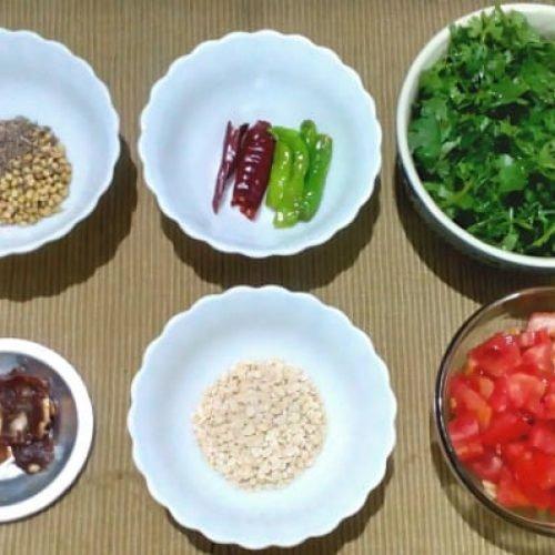 how to make Kothmir Chutney