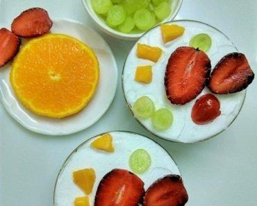 How to prepare Fruit Cream