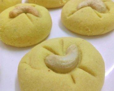 Besan Nankhatai Recipe