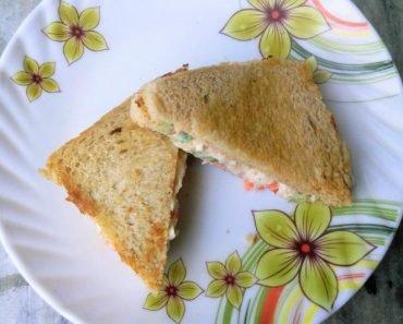 Veg Mayonnaise Sandwich