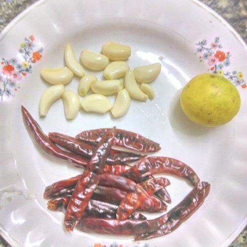 garlic chutney ingredients